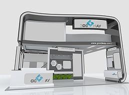 国外<font class='myIsRed'>科技展厅</font>展览模型