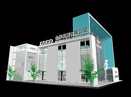 金步发展展厅展览模型