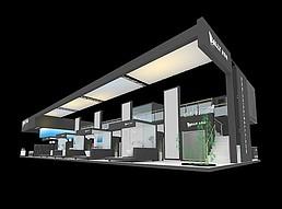 金丽萨展厅展览模型