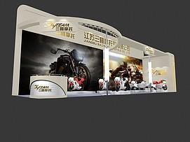 江苏摩托展览模型