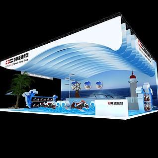 海霸能源3d模型