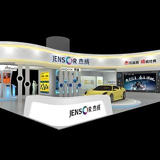 杰成电子3d模型