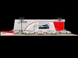 风行汽车展览模型