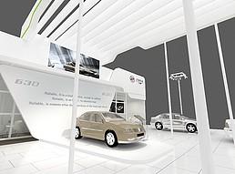 宝骏汽车展览模型