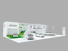 上海大众展览模型