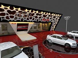 奥迪汽车展展览模型