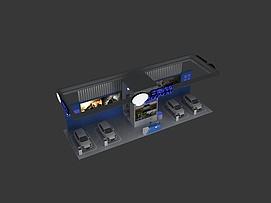 吉奥汽车展展览模型