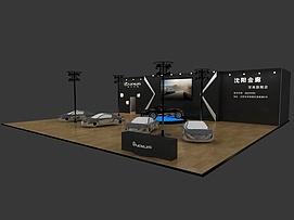 雷克萨斯展览模型