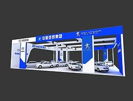 中联车展展览模型