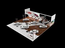 众泰汽车展览模型