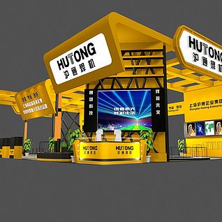 上海沪通3d模型