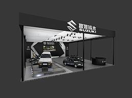 铃木车展展览模型