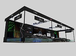 星客特汽车展展览模型