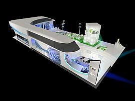 路畅科技展览模型