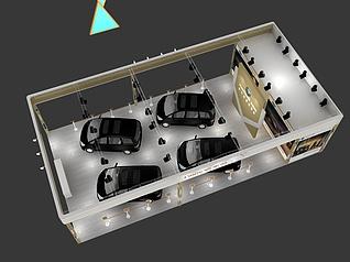 车展-汉星汽车展览模型