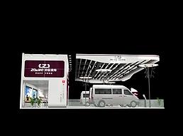 中欧房车展览模型