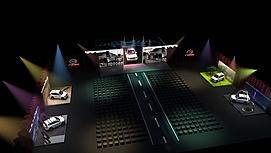 汽车展览展览模型