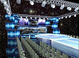 舞台设计展览模型