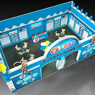 大圣玩具3d模型
