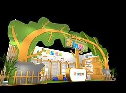木玩世家展览模型