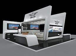 船舶展展览模型