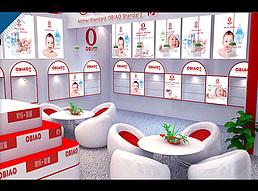 欧标婴童用品展览模型