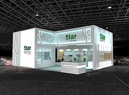 star五金展览模型