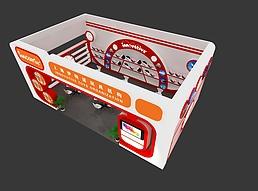 上海伊特诺玩具机构展览模型