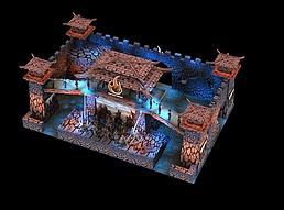游戏展展位设计方案展览模型
