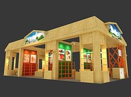 商之口展览模型