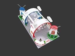 香港力力儿康生物科技集团展览模型