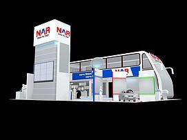 纳尔设计展览模型