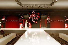 卡迪亚亚洲新品珠宝发布会展览模型