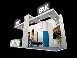 PAK展厅展览模型