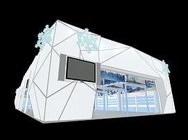 冰雪展厅展览模型
