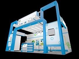 生态展厅展览模型