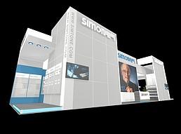 simon电器展览模型
