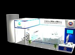 中山机械展览模型