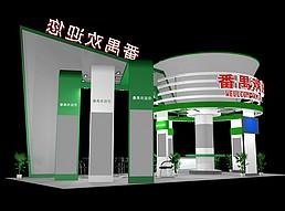 旅游景区展览模型