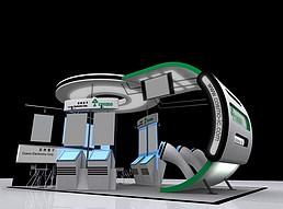 冠希电子展览模型