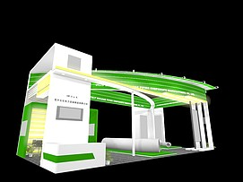 石化电力展览模型