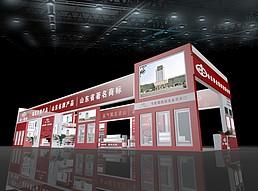 山东铝门展览模型