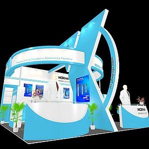 国外机械展览模型