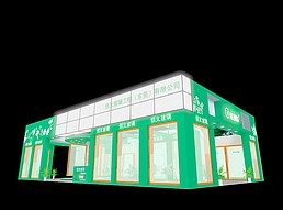 信义玻璃展览模型