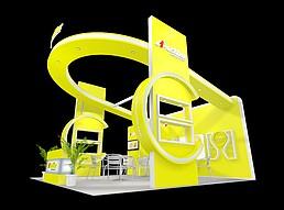 果汁展展览模型