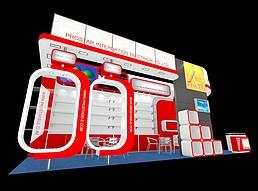 国外科技展展览模型