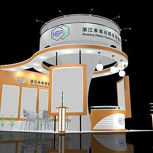 浙江化學生物展覽模型