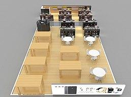电子城耳机beats商场模型展览模型