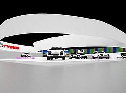 广汽展览模型