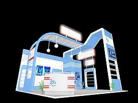 机械展览模型